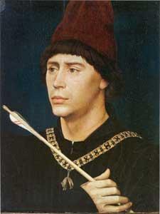 Portret van Anton van Bourgondië ca. 1463