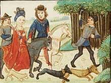 Jachtpartij door Vergilius