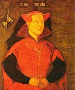 Portret van Jacoba van Beieren ca. 1435